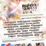 2015 01-23 Headlining Rainbow Serpent Festival (Australia)